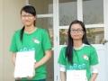 201412_交流会(1・2期生) 成績優秀者の表彰