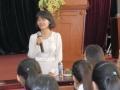 201409_入学説明会・キックオフ(2期生) 日本国看護師資格を持つベトナム人看護師による講演