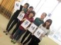201503_交流会(1・2期生) 作品を手に記念撮影